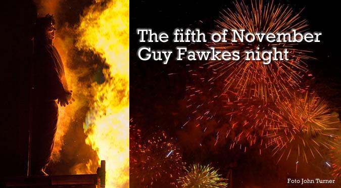Guy Fawkes night o Bonfire night - la noche de las hogueras