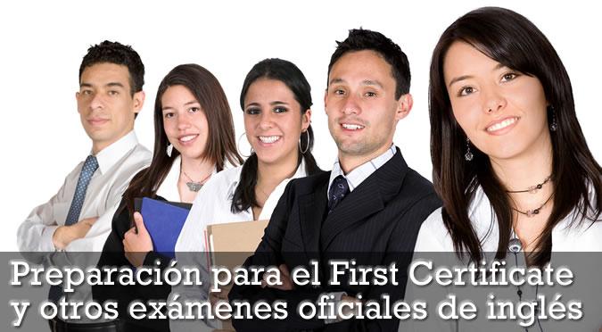Cursos de preparación first certificate